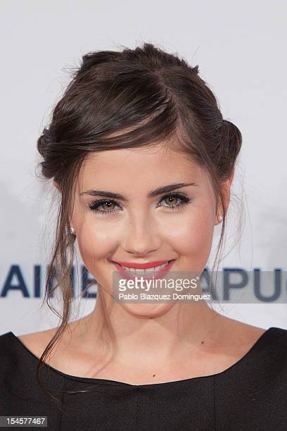 Actress Lucia Ramos attends Cosmopolitan Fun Fearless Awards 2012 at Ritz Hotel on October 22 2012 in Madrid Spain
