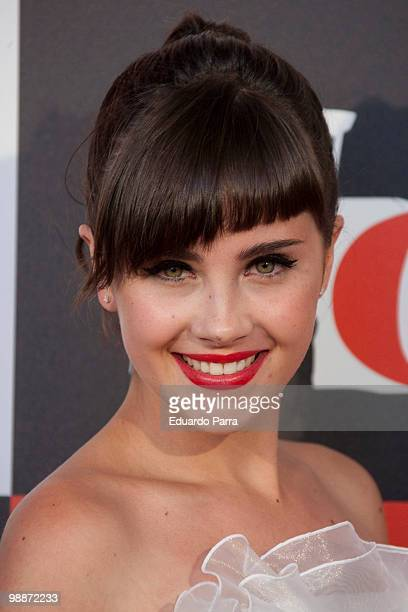 Actress Lucia Ramos attends the 'Fisica o quimica' fifth season photocall at Capitol cinema on May 5 2010 in Madrid Spain
