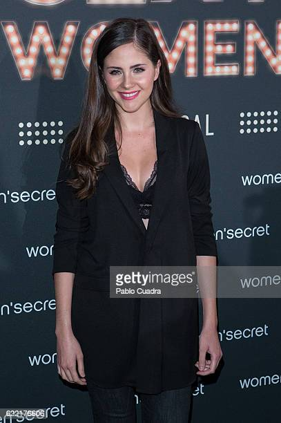 Actress Lucia Ramos attends the new Women'Secret musical presentation party at Fine Arts Circle on November 10 2016 in Madrid Spain