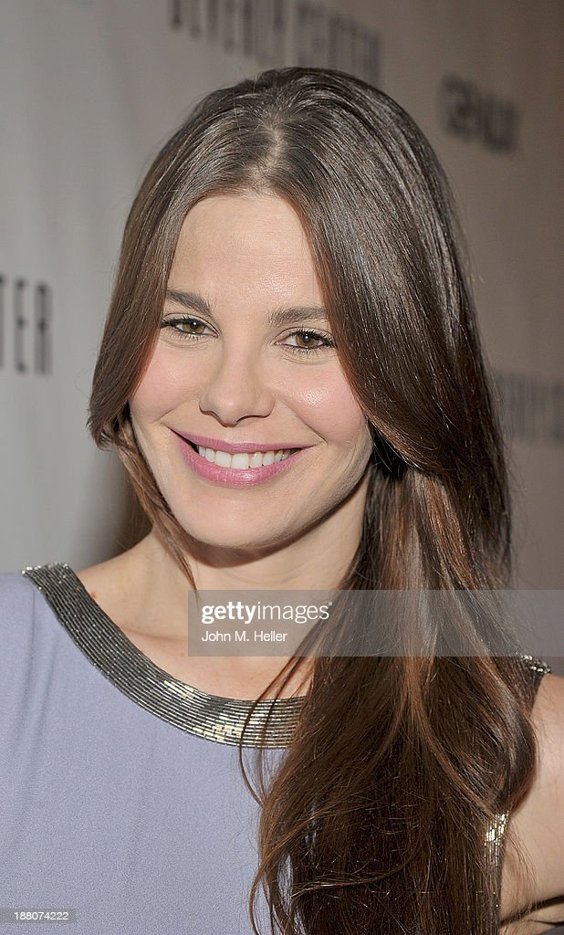 Actress Lucila Sola attends the GENLUX magazine Launch Event Party at The Beverly Center on November 14, 2013 in Los Angeles, California.
