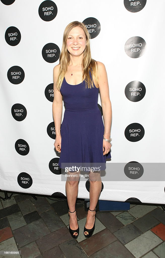 Actress Lucy Alibar attends the 36th Annual Soho Rep Spring Gala at Battery Garden Restaurant on April 8 2013 in New York City