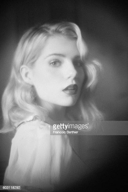Actress Lucy Boynton is photographed for Self Assignment on September 6 2016 in Deauville France