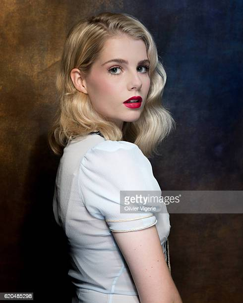 Actress Lucy Boynton is photographed for Self Assignment on September 3 2016 in Deauville France