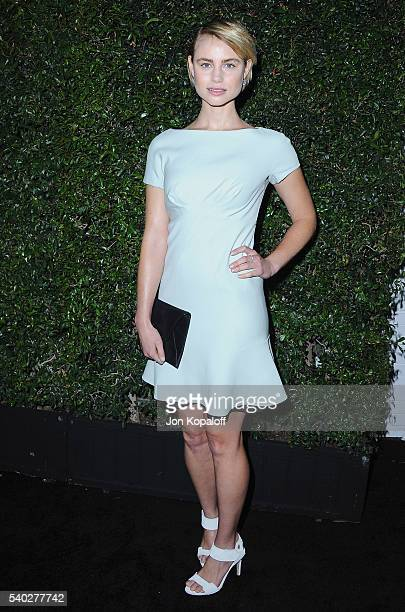 Actress Lucy Fry arrives at Max Mara Celebrates Natalie DormerThe 2016 Women In Film Max Mara Face Of The Future at Chateau Marmont on June 14 2016...