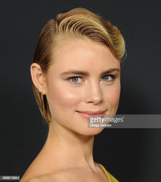 Actress Lucy Fry arrives at the premiere of Cinelou Releasing's 'Mr Church' at ArcLight Hollywood on September 6 2016 in Hollywood California