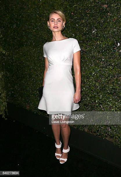 Actress Lucy Fry attends the 2016 Women In Film Max Mara Face of the Future celebrating Natalie Dormer at Chateau Marmont on June 14 2016 in Los...