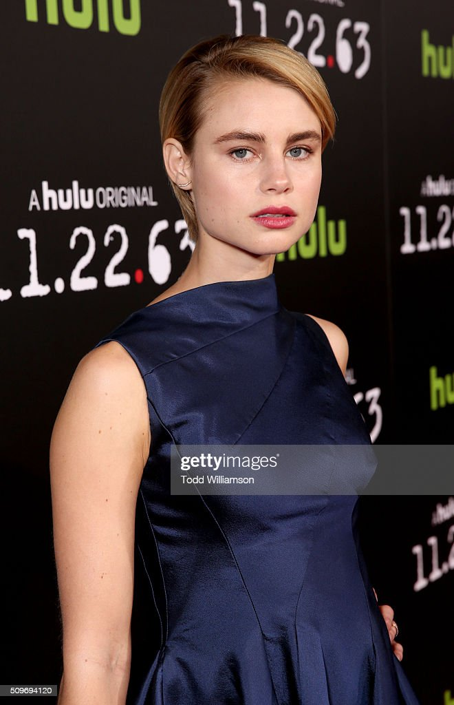 Actress <a gi-track='captionPersonalityLinkClicked' href=/galleries/search?phrase=Lucy+Fry&family=editorial&specificpeople=11673695 ng-click='$event.stopPropagation()'>Lucy Fry</a> attends the Hulu Original '11.22.63' premiere at the Regency Bruin Theatre on February 11, 2016 in Los Angeles, California.