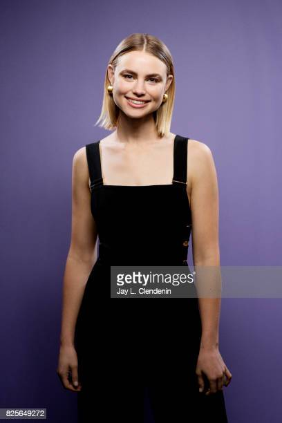 Actress Lucy Fry from the film 'Bright' is photographed in the LA Times photo studio at ComicCon 2017 in San Diego CA on July 20 2017 CREDIT MUST...