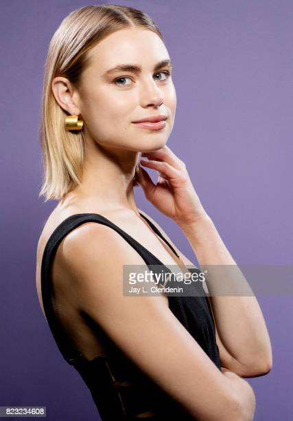 Actress Lucy Fry of Netflix's 'Bright' poses for a portrait at San Diego Comic Con for Los Angeles Times on July 21 2017 in San Diego California