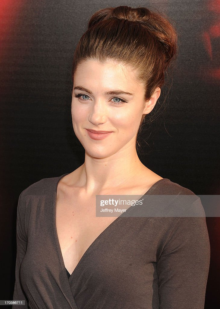 Actress Lucy Griffiths arrives at HBO's 'True Blood' season 6 premiere at ArcLight Cinemas Cinerama Dome on June 11, 2013 in Hollywood, California.