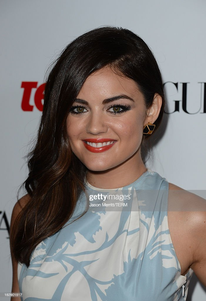 Actress Lucy Hale arrives at Teen Vogue's 10th Anniversary young Hollywood party on September 27, 2012 in Beverly Hills, California.