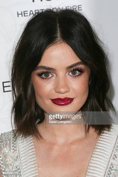 Actress Lucy Hale arrives at the Entertainment Weekly celebration honoring nominees for The Screen Actors Guild Awards at the Chateau Marmont on...
