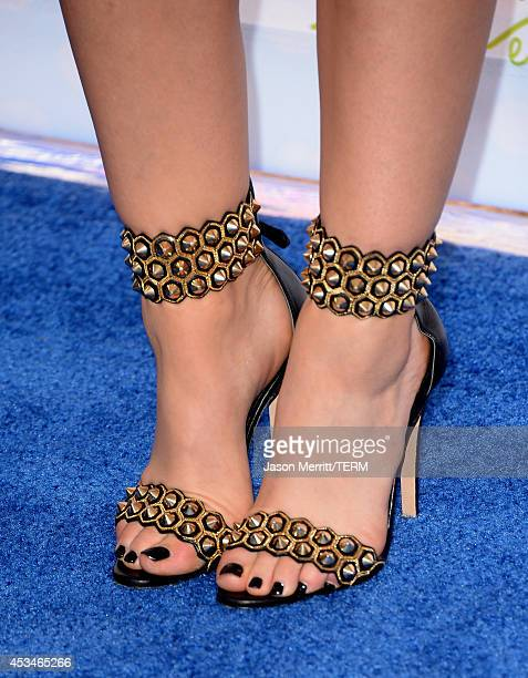 Actress Lucy Hale attends FOX's 2014 Teen Choice Awards at The Shrine Auditorium on August 10 2014 in Los Angeles California