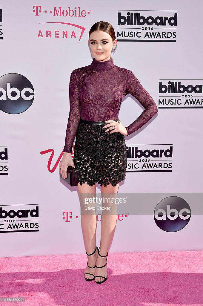 Actress <a gi-track='captionPersonalityLinkClicked' href=/galleries/search?phrase=Lucy+Hale&family=editorial&specificpeople=4430849 ng-click='$event.stopPropagation()'>Lucy Hale</a> attends the 2016 Billboard Music Awards at T-Mobile Arena on May 22, 2016 in Las Vegas, Nevada.
