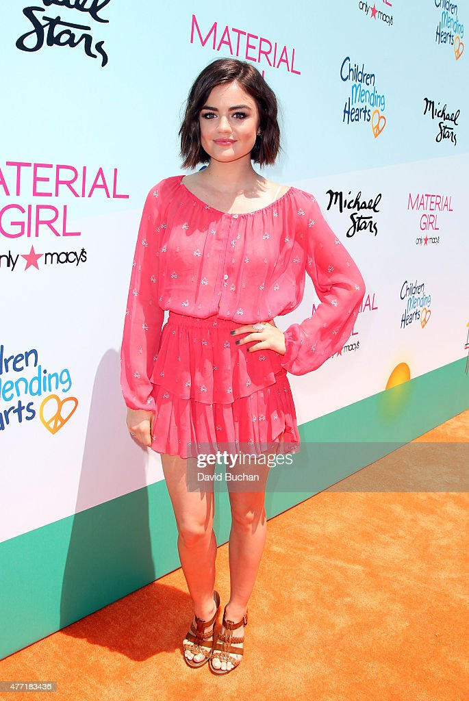 Actress Lucy Hale attends the Children Mending Heart's 7th Annual Empathy Rocks Fundraiser on June 14 2015 in Malibu California