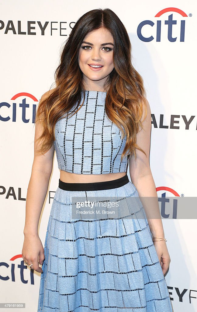 Actress Lucy Hale attends The Paley Center for Media's PaleyFest 2014 Honoring 'Pretty Little Liars' at the Dolby Theatre on March 16, 2014 in Hollywood, California.