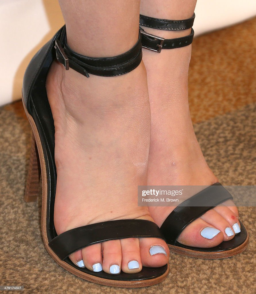 Actress Lucy Hale (shoe detail) attends The Paley Center for Media's PaleyFest 2014 Honoring 'Pretty Little Liars' at the Dolby Theatre on March 16, 2014 in Hollywood, California.