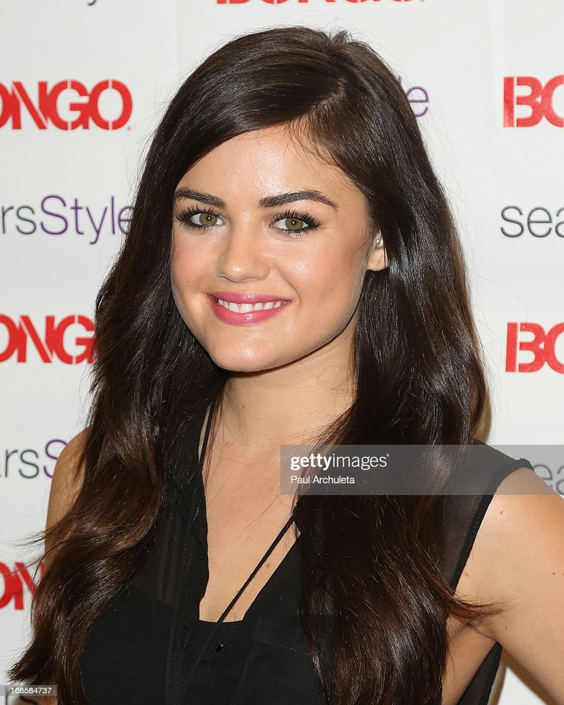 Actress Lucy Hale kicks off summer at Sears showcasing Bongo's new summer trends on May 11, 2013 in North Hollywood, California.