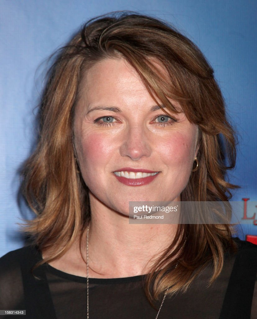 Actress Lucy Lawless arrives at the Pasadena Playhouse and Lythgoe Family Production's 'A Snow White Christmas' at Pasadena Playhouse on December 12, 2012 in Pasadena, California.