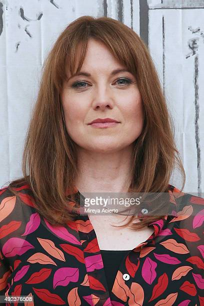 Actress Lucy Lawless attends AOL Build Presents 'Ash vs Evil Dead' at AOL Studios in New York on October 12 2015 in New York City