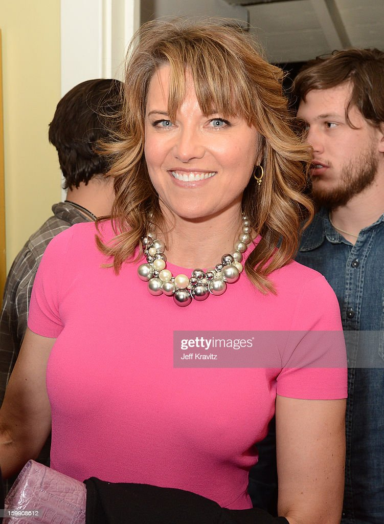 Actress Lucy Lawless attends the 'Spartacus: War Of The Damned' premiere after party on January 22, 2013 in Los Angeles, California.
