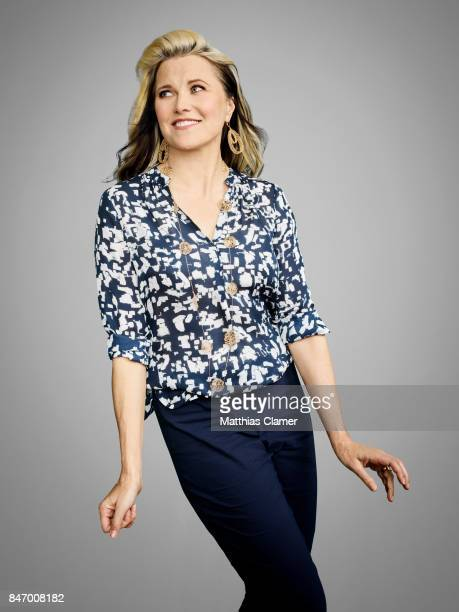 Actress Lucy Lawless from 'Ash vs Evil Dead' is photographed for Entertainment Weekly Magazine on July 22 2016 at Comic Con in the Hard Rock Hotel in...