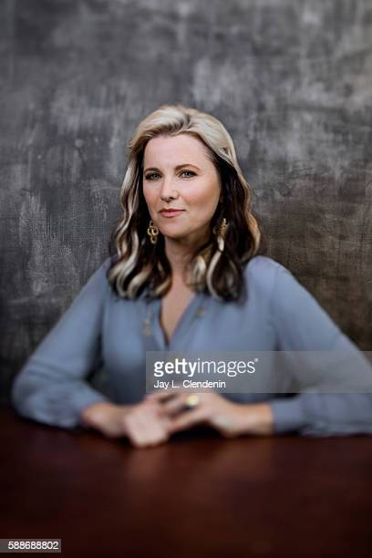 Actress Lucy Lawless of 'Ash vs Evil Dead' is photographed for Los Angeles Times at San Diego Comic Con on July 22 2016 in San Diego California