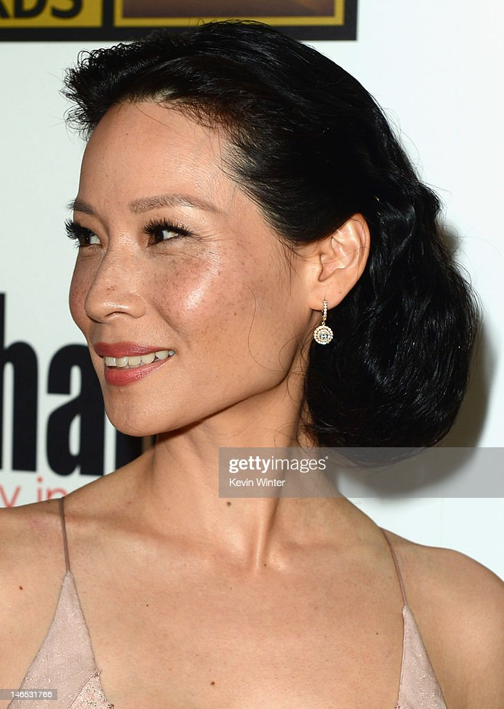 Actress Lucy Liu arrives at Broadcast Television Journalists Association Second Annual Critics' Choice Awards at The Beverly Hilton Hotel on June 18, 2012 in Beverly Hills, California.