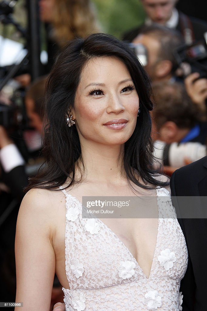 Actress Lucy Liu arrives at the Kung Fu Panda Premiere at the Palais des Festivals during the 61st International Cannes Film Festival May 15, 2008 in Cannes, France.
