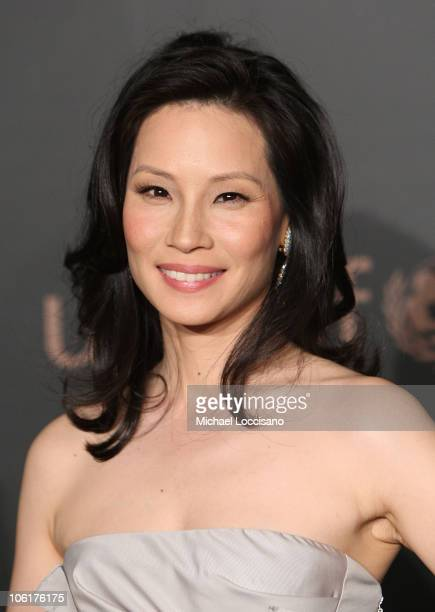 Actress Lucy Liu attends 'A Night To Benefit Raising Malawi UNICEF' hosted by Madonna and Gucci at The United Nation in New York City on February 6...