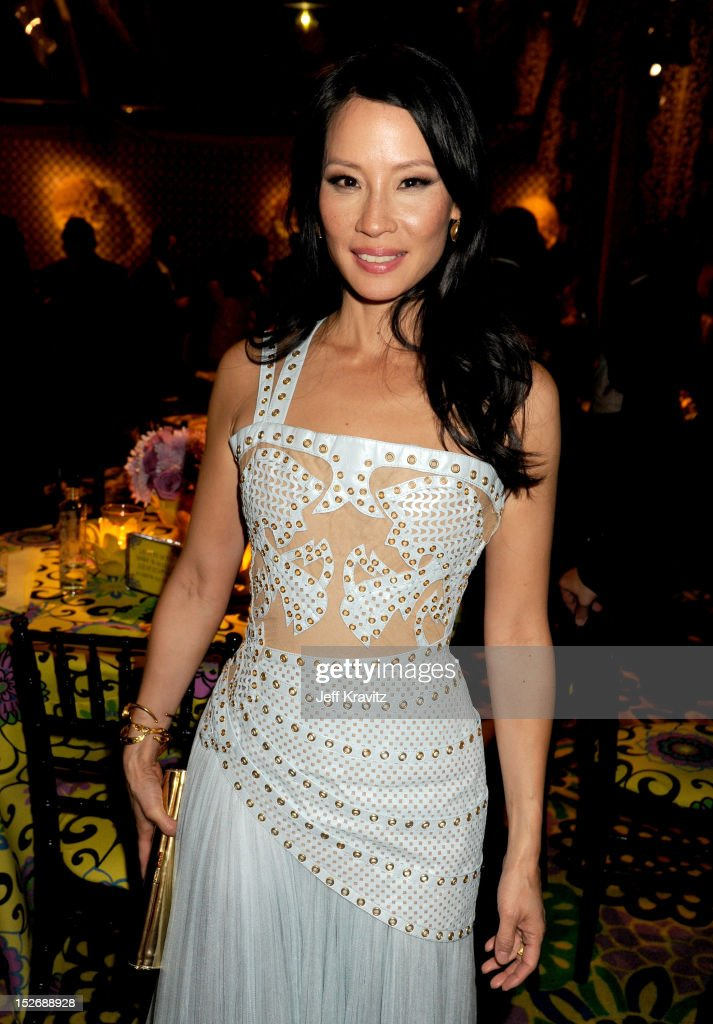 Actress Lucy Liu attends HBO's Official Emmy After Party at The Plaza at the Pacific Design Center on September 23, 2012 in Los Angeles, California.