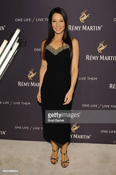 Actress Lucy Liu attends One Life/Live Them presented by Remy Martin and Jeremy Renner on October 20 2015 in New York City