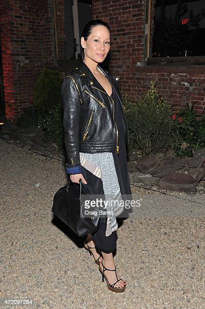 Actress Lucy Liu attends Pioneer Works 2nd Annual Village Fete presented by BOMBAY SAPPHIRE GIN at Pioneer Works Center for Art Innovation on May 3...