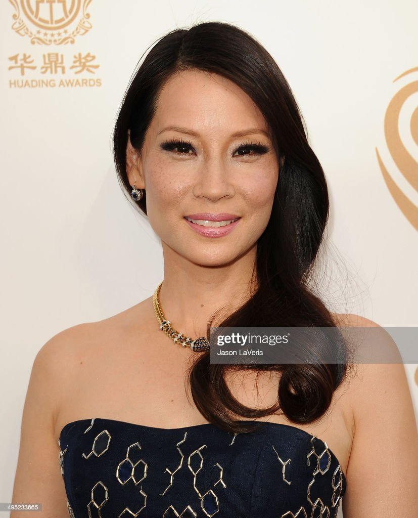 Actress <a gi-track='captionPersonalityLinkClicked' href=/galleries/search?phrase=Lucy+Liu&family=editorial&specificpeople=201874 ng-click='$event.stopPropagation()'>Lucy Liu</a> attends the 2014 Huading Film Awards at The Montalban on June 1, 2014 in Hollywood, California.