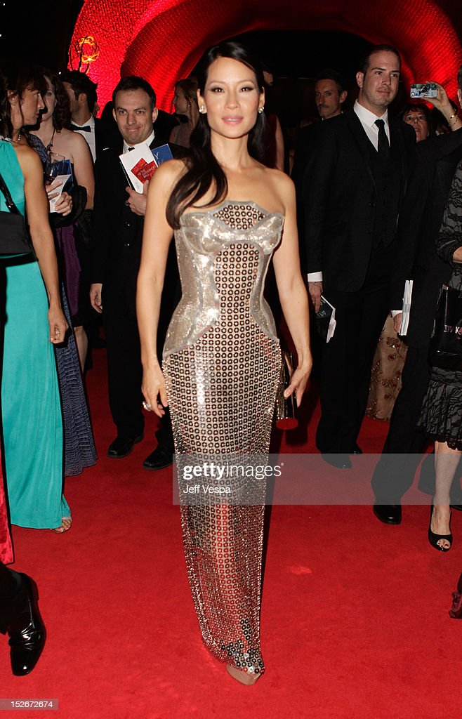 Actress Lucy Liu attends the 64th Primetime Emmy Awards Governors Ball at Los Angeles Convention Center on September 23, 2012 in Los Angeles, California.