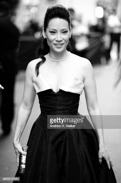 Actress Lucy Liu attends the 68th Annual Tony Awards at Radio City Music Hall on June 8 2014 in New York City