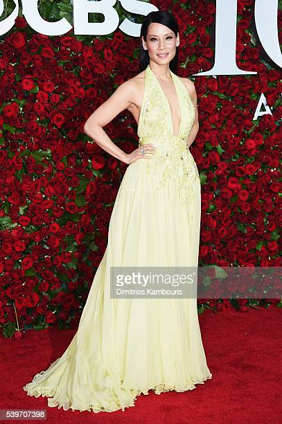 Actress Lucy Liu attends the 70th Annual Tony Awards at The Beacon Theatre on June 12 2016 in New York City