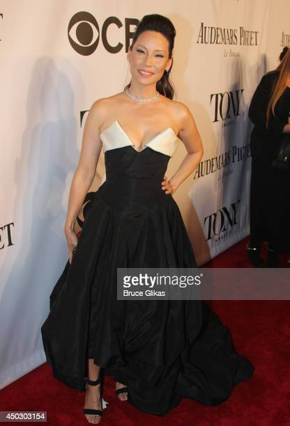 Actress Lucy Liu attends the American Theatre Wing's 68th Annual Tony Awards at Radio City Music Hall on June 8 2014 in New York City