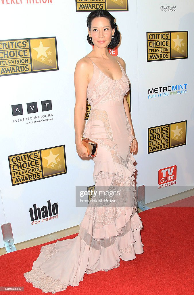 Actress Lucy Liu attends the Broadcast Television Journalists Association Second Annual Critics' Choice Awards at The Beverly Hilton Hotel on June 18, 2012 in Beverly Hills, California.