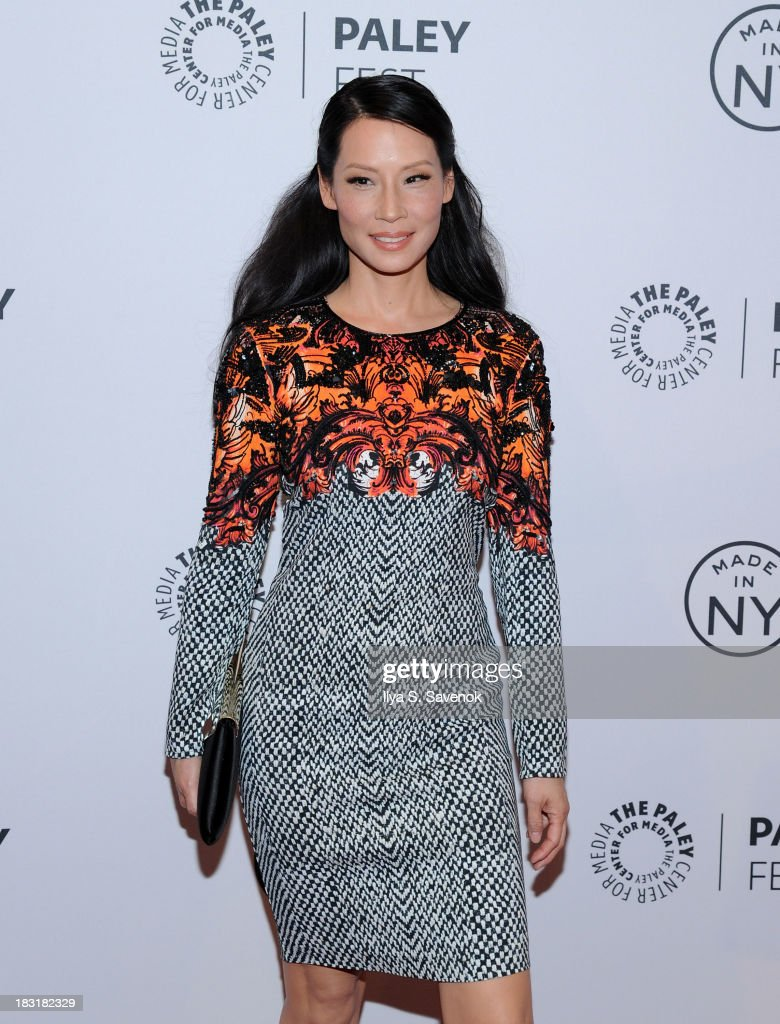 Actress Lucy Liu attends the 'Elementary' panel during 2013 PaleyFest: Made In New York at The Paley Center for Media on October 5, 2013 in New York City.