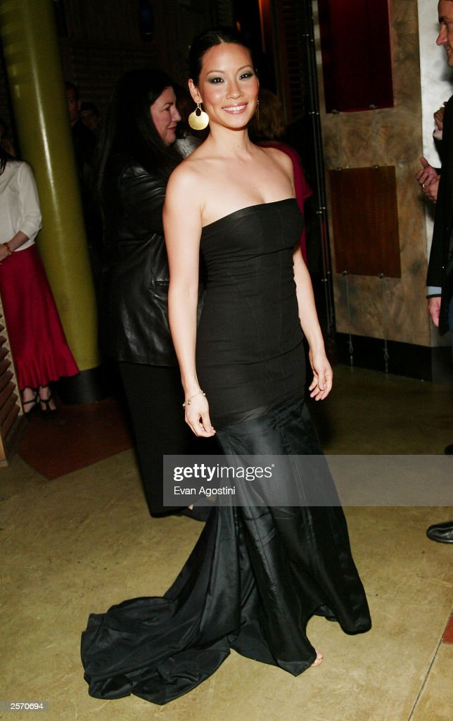 Actress Lucy Liu attends the New York Premiere of Quentin Tarantino's 'Kill Bill Vol. 1' after-party at Noche October 7, 2003 in New York City.