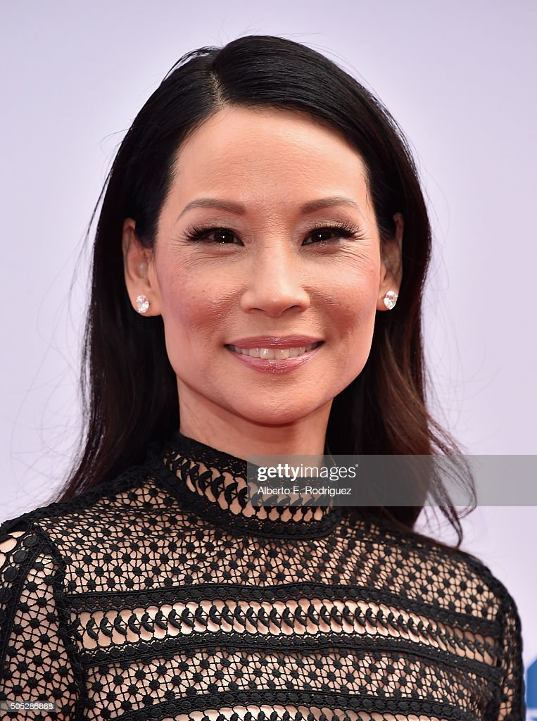 Actress <a gi-track='captionPersonalityLinkClicked' href=/galleries/search?phrase=Lucy+Liu&family=editorial&specificpeople=201874 ng-click='$event.stopPropagation()'>Lucy Liu</a> attends the premiere of DreamWorks Animation and Twentieth Century Fox's 'Kung Fu Panda 3' at TCL Chinese Theatre on January 16, 2016 in Hollywood, California.