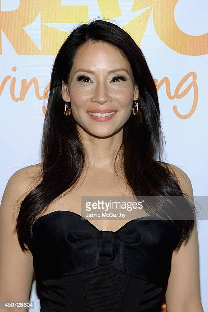 Actress Lucy Liu attends the Trevor Project's 2014 'TrevorLIVE NY' Event at the Marriott Marquis Hotel on June 16 2014 in New York City