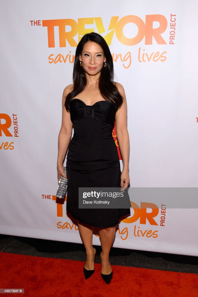 Actress Lucy Liu attends the Trevor Project's 2014 'TrevorLIVE NY' Event at the Marriott Marquis Hotel on June 16, 2014 in New York City.