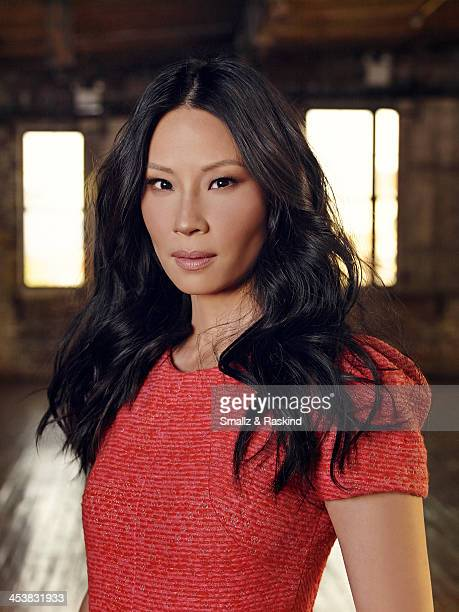 Actress Lucy Liu is photographed for TV Guide Magazine on October 14 2013 in New York City ON DOMESTIC EMBARGO UNTIL JANUARY 14 2014 ON INTERNATIONAL...