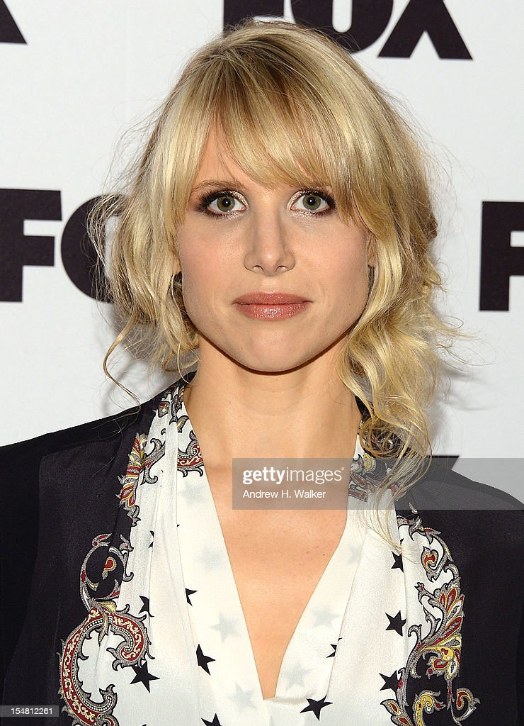 Actress Lucy Punch attends a Salute To FOX Comedy on October 26, 2012 in New York City.