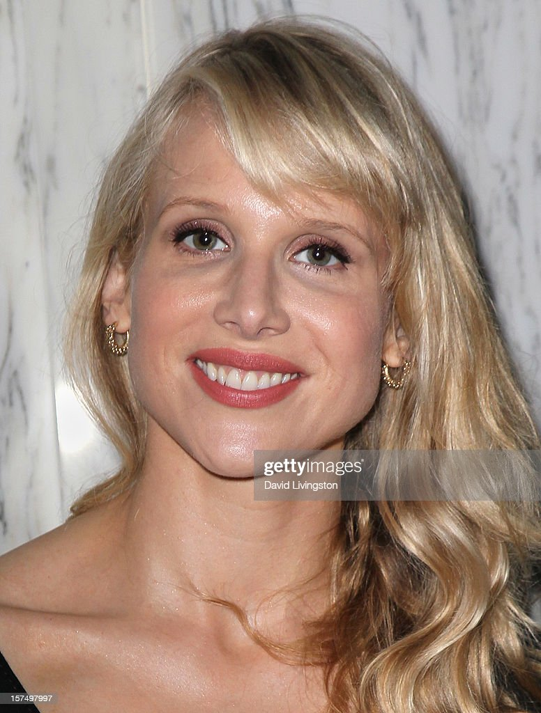 Actress Lucy Punch attends the ACLU of Southern California's 2012 Bill of Rights Dinner at the Beverly Wilshire Four Seasons Hotel on December 3, 2012 in Beverly Hills, California.