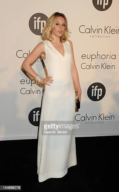 Actress Ludivine Sagnier attends as The IFP Calvin Klein Collection euphoria Calvin Klein celebrate Women In Film during the 65th Cannes Film...