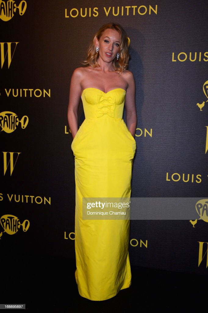 Actress Ludivine Sagnier attends The Bling Ring Party hosted by Louis Vuitton during The 66th Annual Cannes Film Festival at Club d'Albane/JW Marriott on May 16, 2013 in Cannes, France.