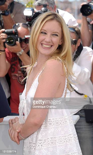 Actress Ludivine Sagnier attends the 'Les BienAimes' Photocall during the 64th Cannes Film Festival at the Palais des Festivals on May 21 2011 in...